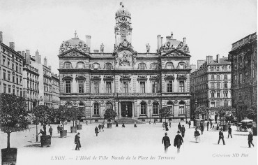 Hotel de ville Lyon