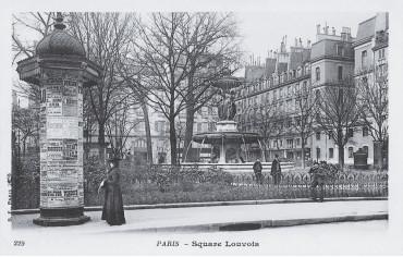 Square Louvois - Paris 2