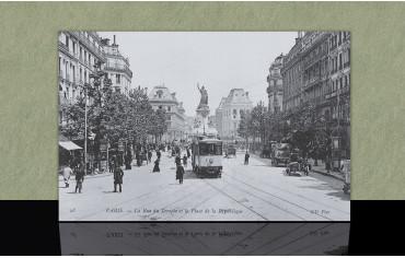 Rue du temple et Place de la République - Paris 3