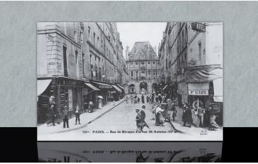 Rue de Birague à la rue...
