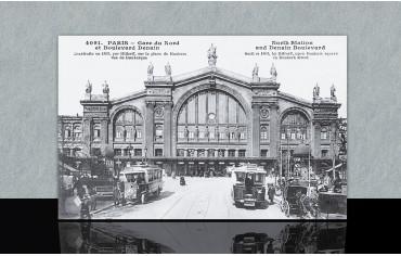 Gare du Nord et Boulevard Denain - Paris 10