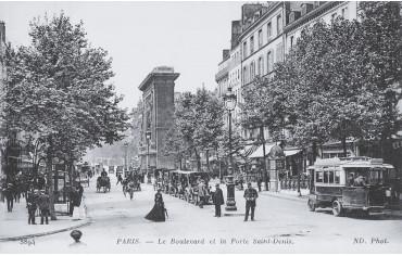 Boulevard et Porte Saint-Denis - Paris 10