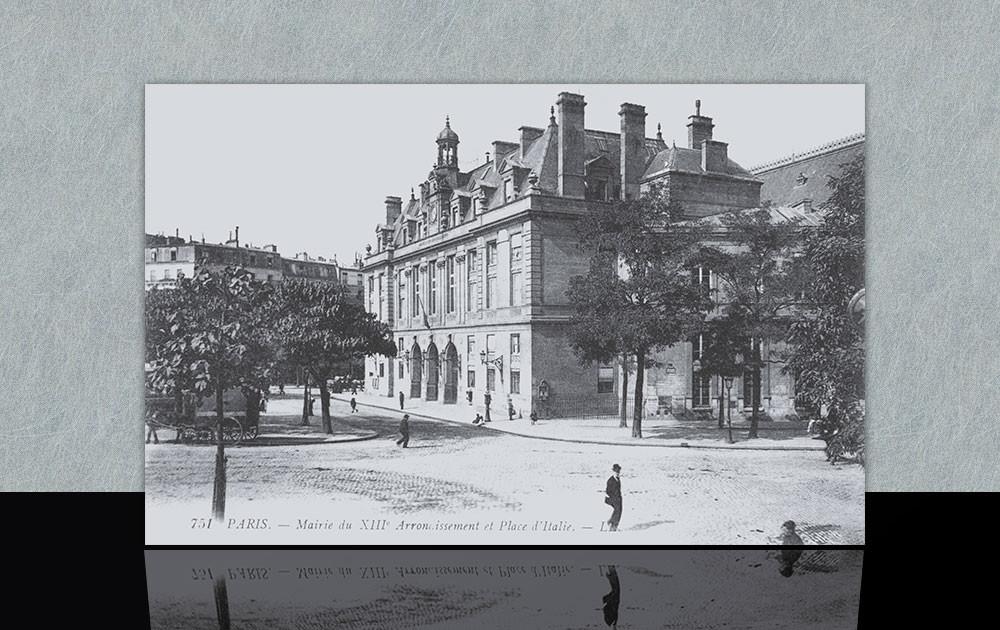 Place d'Italie et Mairie - Paris 13