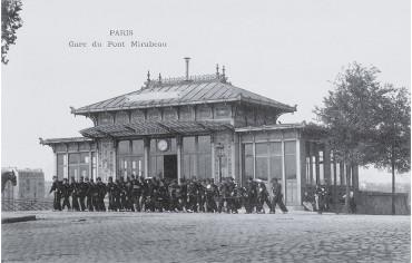 Gare du Pont Mirabeau - Paris 15