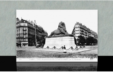 Place Denfert Rochereau - Paris 14