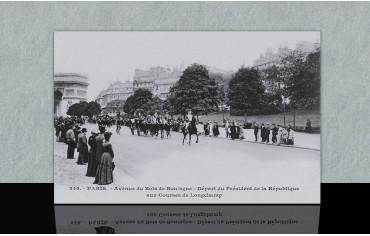 Avenue du bois de Boulogne...