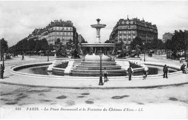 Place Félix Eboué - avenue daumesnil paris 12 dans les années 1920