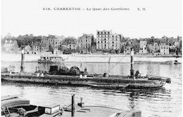 Quai des carrières - Charenton le pont 1920