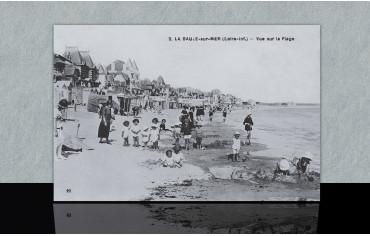 Vue sur la plage - La Baule