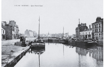Quai de Saint-Cast - Rennes