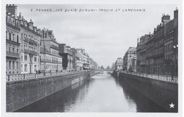 Les Quais Duguay-Trouin et Lamennais - Rennes