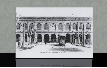 Gare du P.L.M. - Nîmes