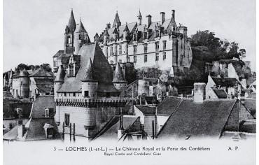 Le Château Royal et la Porte des Cordeliers - Loches