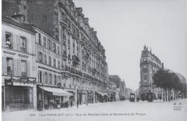 Rue du Rendez-vous et Boulevard de Picpus - Paris 12