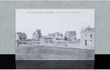 Les chalets de la rue de Dahouët - Pléneuf-Val-André