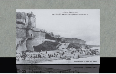 Plage de Bon-Secours - Saint-Malo