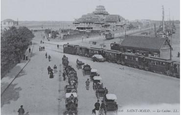 Le casino et l'esplanade Saint-Vincent - Saint-Malo