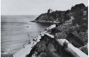 Promenade des Alliés et pointe du Moulinet - Dinard