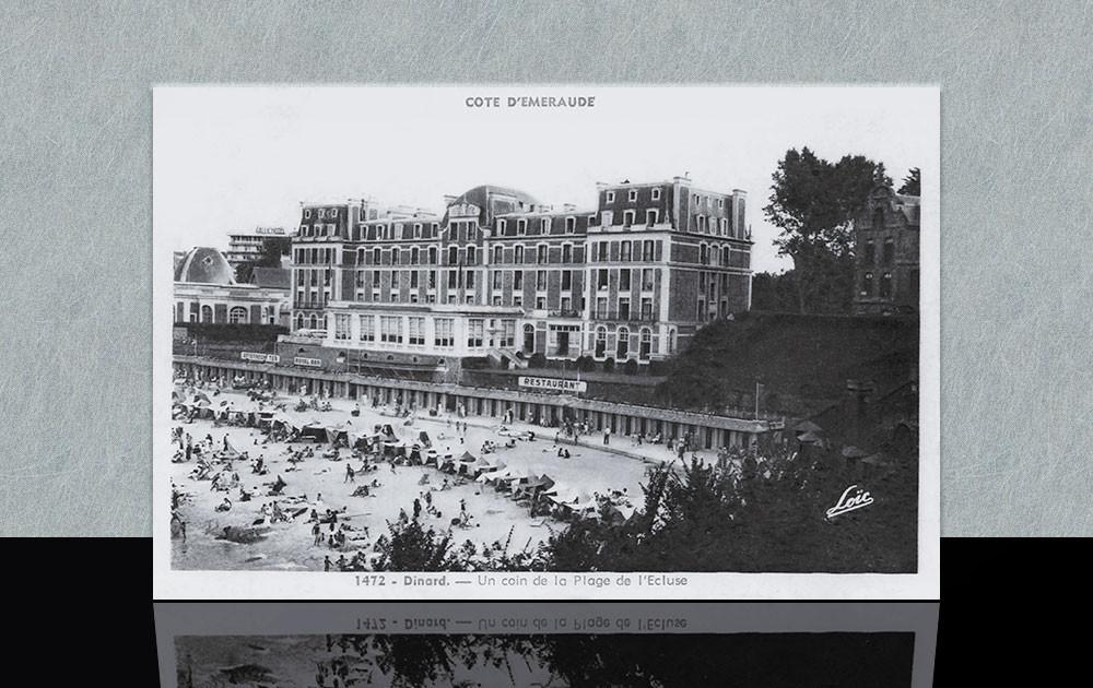 Hôtel Royal et plage de l'Ecluse - Dinard