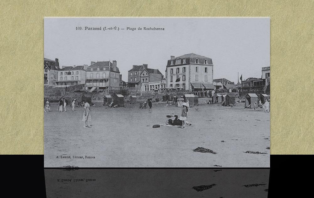 Paramé plage de Rochebonne - Saint-Malo