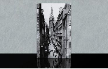 Grande Rue et clocher de la...