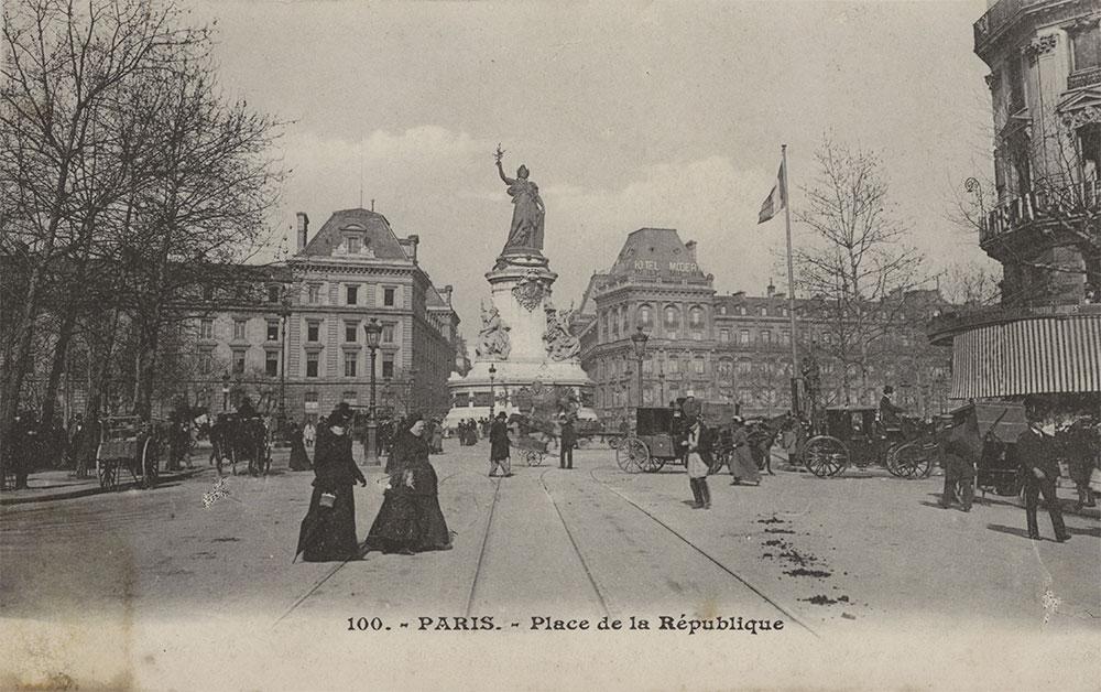 Place de la république - Avant Traitement Picasquare