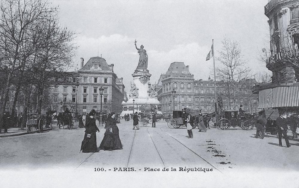Place de la république - Après Traitement Picasquare